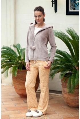 Hays Trina Kadın Wellsoft Sabahlıklı Penye 3'lü Pijama Takımı
