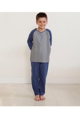 Hays Erkek Çocuk Penye 2'li Uzun Pijama Takımı