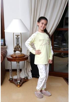 Hays Kids Kız Çocuk Zuzu Baskılı 2'li Uzun Pijama Takımı