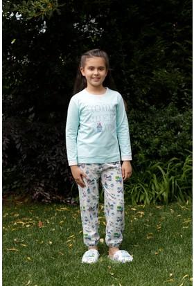 Hays Evia Penye Kız Çocuk 2'li Uzun Pijama Takımı