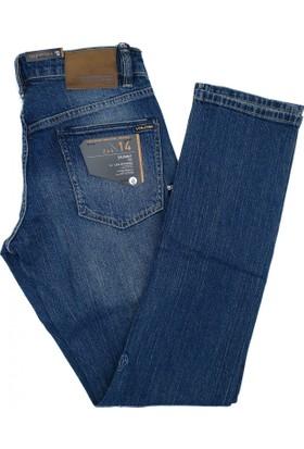 Volcom 2X4 Denim Sandy indigo Kot Pantolon