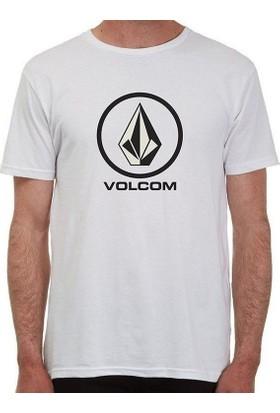 Volcom Circlestone Bsc White Tişört