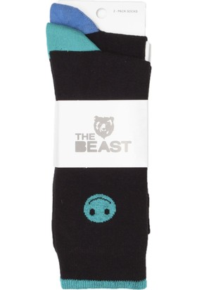 The Beast 2 Li Smiley Çorap Standart