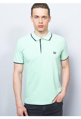 Degarza Açık Yeşil Erkek Polo Yaka Tshirt
