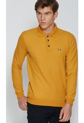 Adze Hardal Erkek Polo Yaka SweaTshirt
