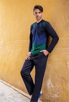 Berrak 246 Erkek Pijama Takımı Yeşil