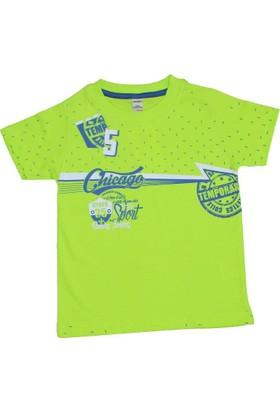Waxmen 4847 Tshirt Açık Yeşil