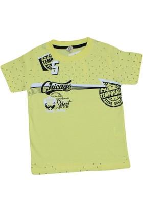 Waxmen 4847 Tshirt Sarı