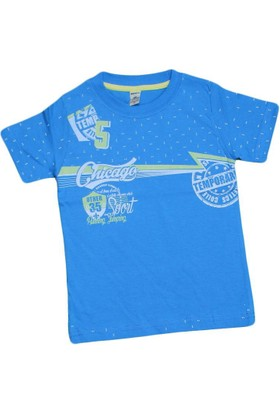 Waxmen 4847 Tshirt Mavi