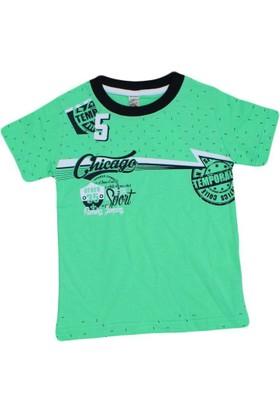 Waxmen 4847 Tshirt Yeşil
