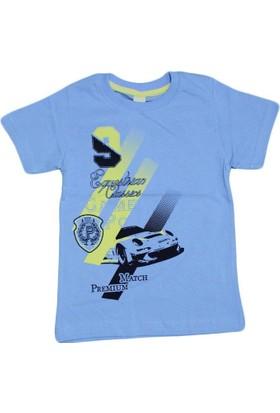 Waxmen 4857 Tshirt Açık Mavi