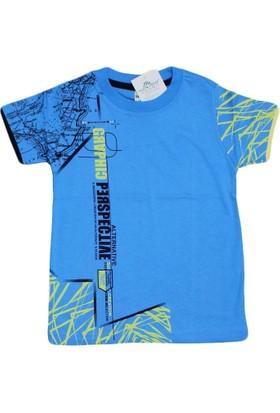 Waxmen 4888 Tshirt Mavi