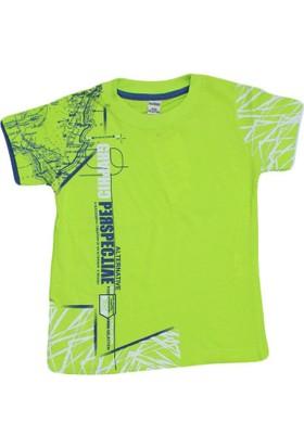 Waxmen 4888 Tshirt Açık Yeşil