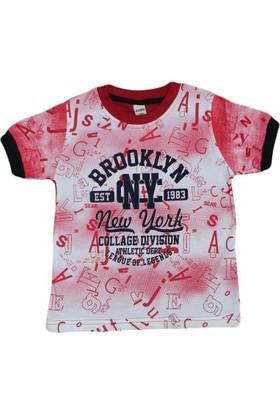 Waxmen 4917 Tshirt Kırmızı