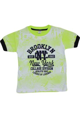 Waxmen 4917 Tshirt Açık Yeşil