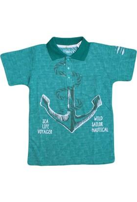 Haknur 5881 Tshirt Yeşil