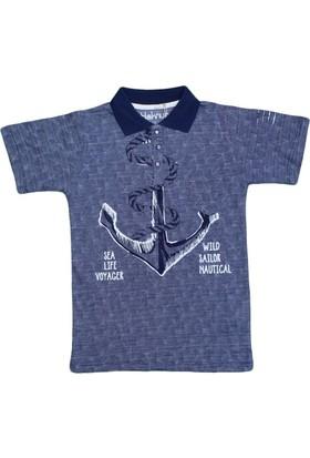 Haknur 5881 Tshirt Lacivert