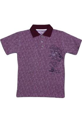 Haknur 5886 Tshirt Bordo