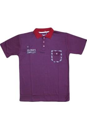 Haknur 5933 Tshirt Bordo