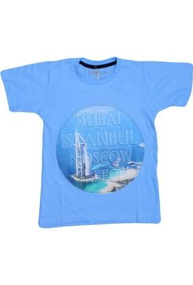 Haknur 5971 Tshirt Mavi