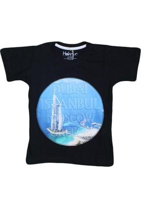 Haknur 5971 Tshirt Siyah