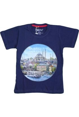 Haknur 6027 Tshirt Lacivert