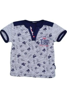 Gess 17440 Tshirt Lacivert
