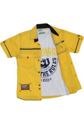 Polat P-7306 Erkek Gömlek Sarı