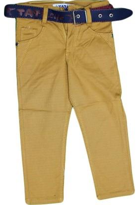 Tati T-9121 Renkli Armütlü Pantolon Hardal