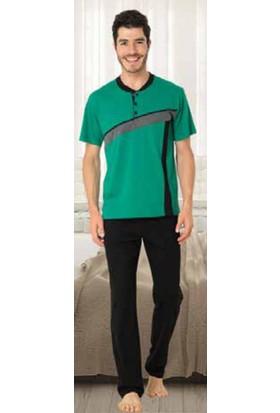 Fapi 2203 Erkek Pijama Takımı Yeşil
