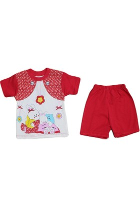 Bilkon 7278 Bebe Takımı Kırmızı