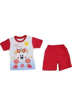 Bilkon 7353 Bebe Takımı Kırmızı
