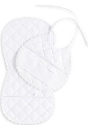 Bebecocon Sierra Önlük Set Beyaz