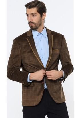 Comienzo Erkek Printed Klasik Ceket