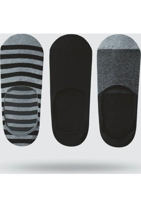 Üçlü John Frank 17S No Show Çorap