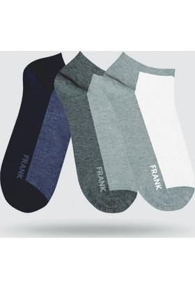 John Frank 17S Üçlü Kısa Çorap