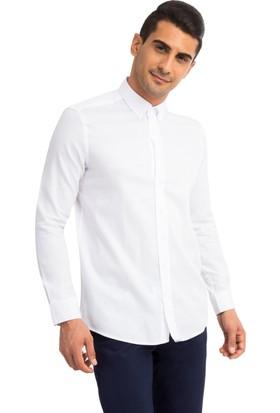 Kiğılı Kz Pamuk Slim Fit Uzun Kollu Gömlek