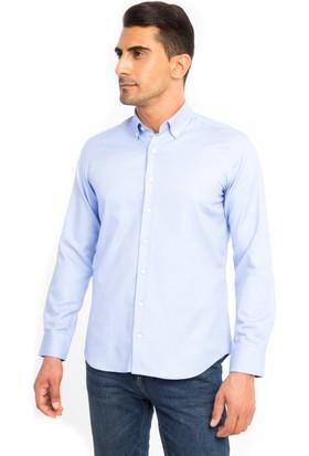 Kiğılı A.K.Pn.Oxford Slim Fit Gömlek