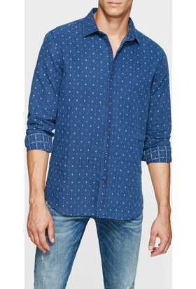 Mavi Cepsiz Denim İndigo Gömlek