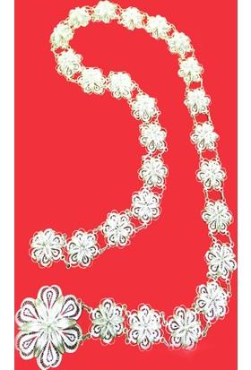 Midyat Nurtaş Gümüş 925 Ayar Midyat El İşçiliği Gümüş Kemer 2010319