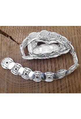 Midyat Nurtaş Gümüş Midyat Telkari El İşçiliği Gümüş Bayan Kemer 20103416