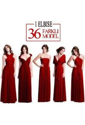 Wildlebend Sheland Tek Elbise 36 Farklı Model - Kırmızı