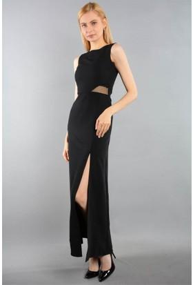 Espenica Uzun Tül Detaylı Elbise Pull 3646