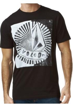 Volcom Pistol Collision Ls Blk T-Shirt