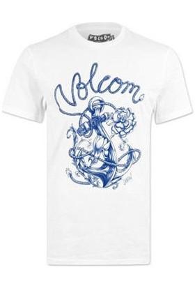 Volcom Fa Caspian Ss Wht T-Shirt
