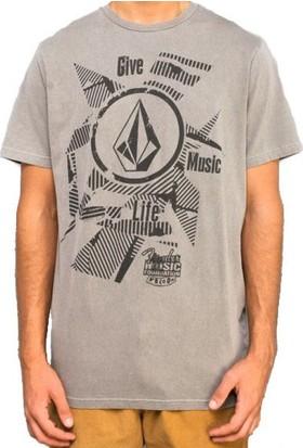 Volcom Fender Collab Vent Ss Gry T-Shirt