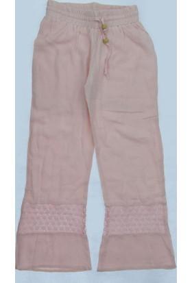 Littlestar Kız Çocuk Paçası Dantel Pantolon
