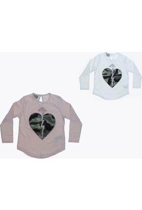 Littlestar Kız Çocuk Kalp Tişört