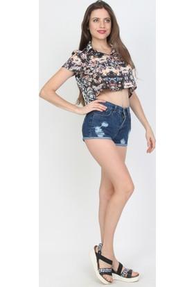E-Giyimsepeti Bayan Kot Şort