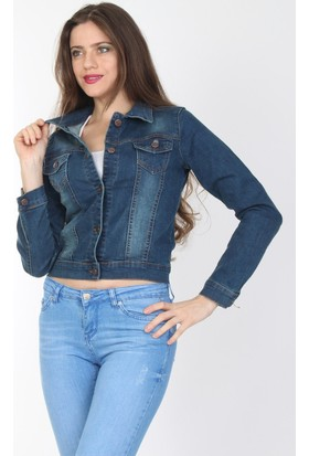 E-Giyimsepeti Moda Trend Bayan Kot Ceket